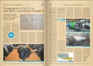 Navalprogetti e C.N.G.V., tra NAV 2018 e GASVESSEL project