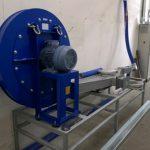 Figure 16. Curing Machine Fan and electric heater