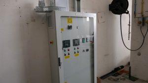 Figure 17. Curing Machine Electrical cabinet