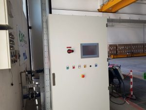 Figure 2. Hydroforming electrical cabinet